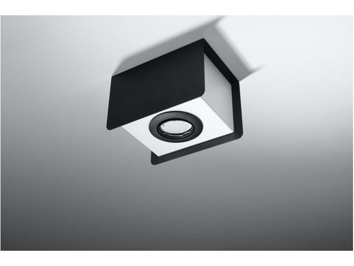 Oprawa natynkowa STEREO 1 czarna/biała SL.0409 SOLLUX SL.0409 | SPRAWDŹ RABAT W KOSZYKU ! Oprawa led Oprawa stropowa Kolor Biały Kolor Czarny