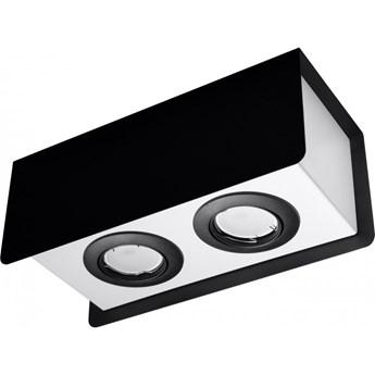 Oprawa natynkowa STEREO 2 czarna/biała SL.0410 SOLLUX SL.0410 | SPRAWDŹ RABAT W KOSZYKU !