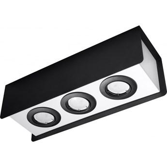 Oprawa natynkowa STEREO 3 czarna/biała SL.0411 SOLLUX SL.0411