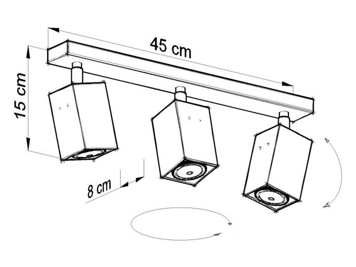 Oprawa natynkowa MERIDA 3 szara SL.0457 SOLLUX SL.0457 | SPRAWDŹ RABAT W KOSZYKU ! Oprawa led Oprawa stropowa Kategoria Oprawy oświetleniowe