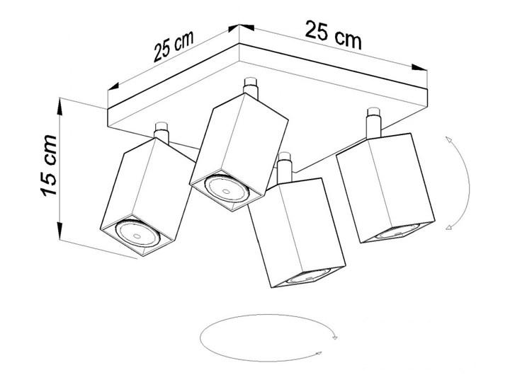 Oprawa natynkowa MERIDA 4 szara SL.0458 SOLLUX SL.0458 | SPRAWDŹ RABAT W KOSZYKU ! Oprawa led Oprawa stropowa Kategoria Oprawy oświetleniowe