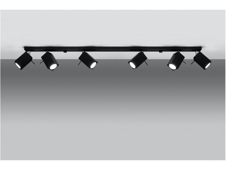 Oprawa natynkowa MERIDA 6L czarna SL.0460 SOLLUX SL.0460 | SPRAWDŹ RABAT W KOSZYKU ! Oprawa led Oprawa stropowa Kolor Czarny
