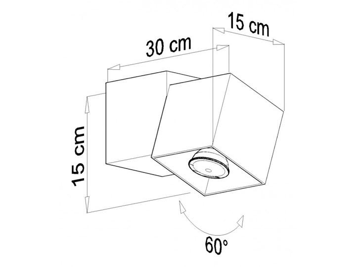 Oprawa natynkowa OPTIK 2 czarna/biała SL.0475 SOLLUX SL.0475 | SPRAWDŹ RABAT W KOSZYKU ! Oprawa led Oprawa stropowa Kolor Biały