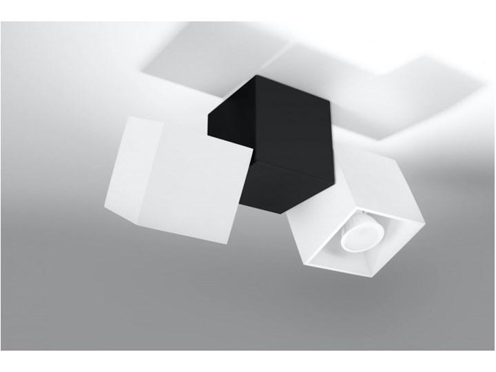 Oprawa natynkowa OPTIK 3 czarna/biała SL.0476 SOLLUX SL.0476   SPRAWDŹ RABAT W KOSZYKU ! Oprawa stropowa Oprawa led Kolor Biały