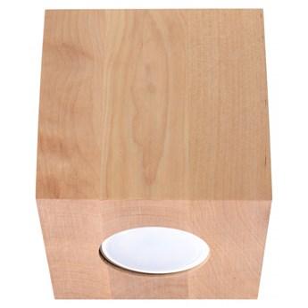 Oprawa natynkowa QUAD naturalne drewno SL.0493 SOLLUX SL.0493 | SPRAWDŹ RABAT W KOSZYKU !