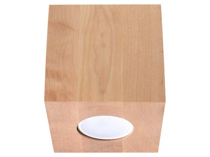 Oprawa natynkowa QUAD naturalne drewno SL.0493 SOLLUX SL.0493