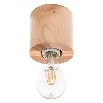 Oprawa natynkowa SALGADO naturalne drewno SL.0672 SOLLUX SL.0672 | SPRAWDŹ RABAT W KOSZYKU !