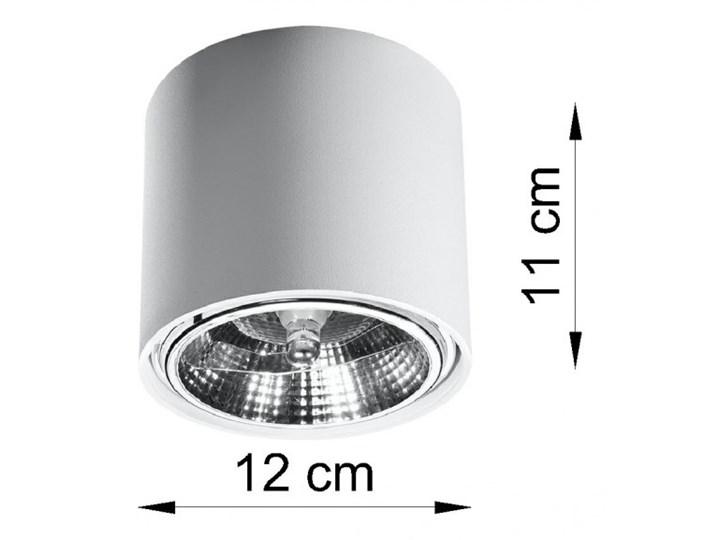 Oprawa natynkowa TIUBE biała SL.0695 SOLLUX SL.0695 | SPRAWDŹ RABAT W KOSZYKU ! Oprawa stropowa Kolor Biały