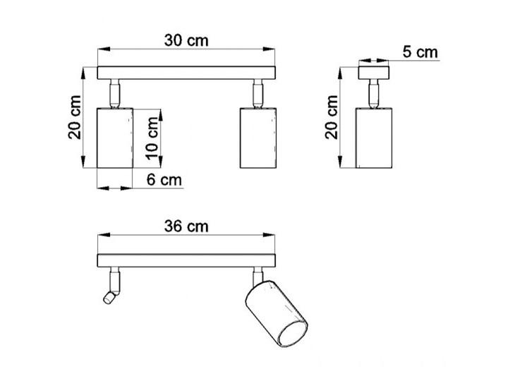 Oprawa natynkowa BERGE 2 naturalne drewno SL.0702 SOLLUX SL.0702   SPRAWDŹ RABAT W KOSZYKU ! Oprawa stropowa Kategoria Oprawy oświetleniowe
