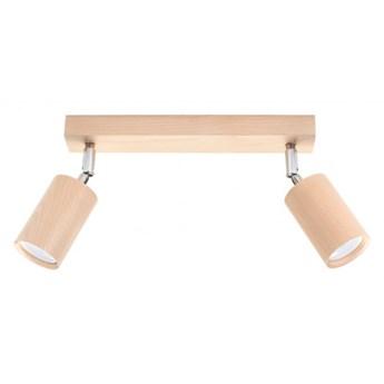 Oprawa natynkowa BERGE 2 naturalne drewno SL.0702 SOLLUX SL.0702 | SPRAWDŹ RABAT W KOSZYKU !