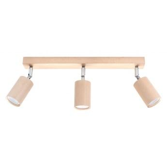 Oprawa natynkowa BERGE 3 naturalne drewno SL.0703 SOLLUX SL.0703 | SPRAWDŹ RABAT W KOSZYKU !