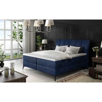 Łóżko Aderito Granatowy 183cm