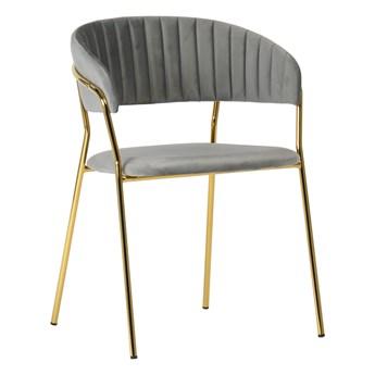Stylowe Krzesło Gama Szary