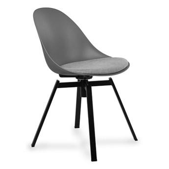 Stylowe Krzesło Obrotowe Logi Szary