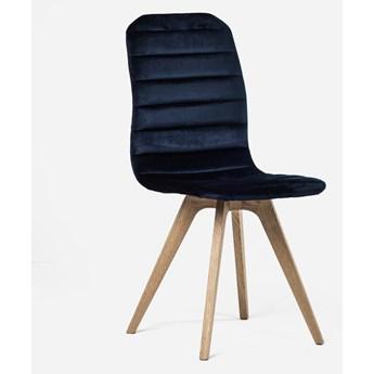 Stylowe Krzesło Amster Granatowy