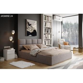 Łóżko do sypialni Carlo Beżowy 140cm