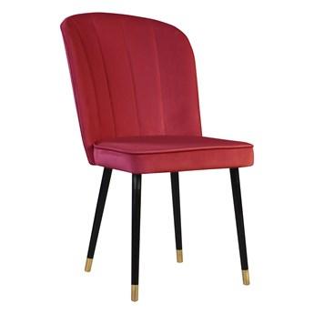Krzesło Doti Bordowy