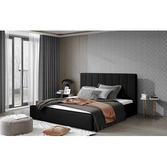 Łóżko Audrey Czarny 160cm