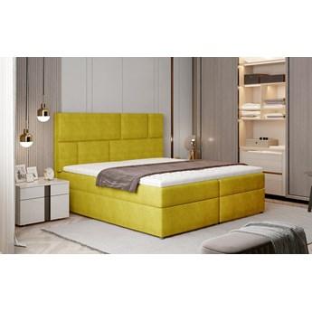 Łóżko Florence żółty 185cm