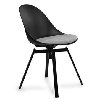 Stylowe Krzesło Obrotowe Logi Czarny