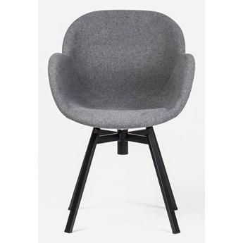 Stylowe Krzesło Obrotowe Marin Szary