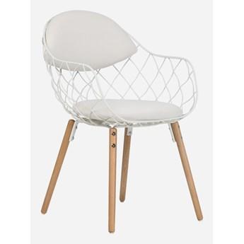 Stylowe Krzesło Scandi Biały