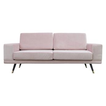 Stylowa Sofa Verso Pudrowy róż