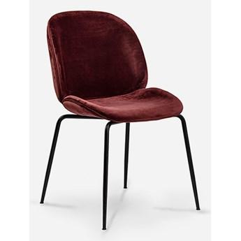 Stylowe Krzesło Turis Bordowy