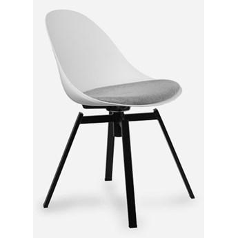 Stylowe Krzesło Obrotowe Logi Biały