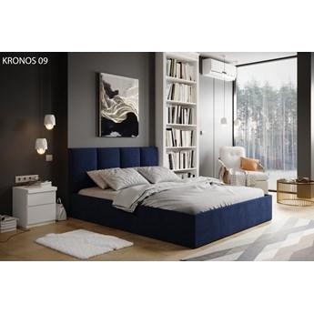 Łóżko do sypialni Lugi Granatowy 140cm