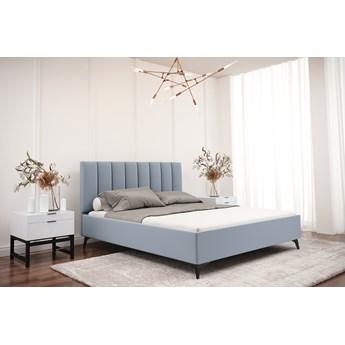 Łóżko tapicerowane do sypialni LUCIA 140cm Turkusowy Tak