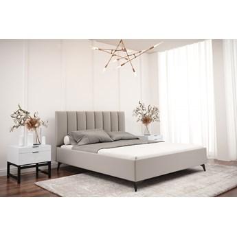 Łóżko tapicerowane do sypialni LUCIA 160cm Turkusowy Tak