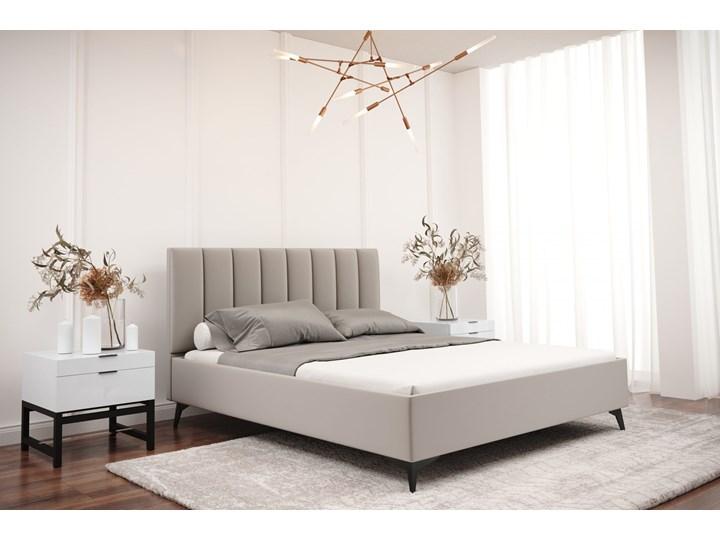 Łóżko tapicerowane do sypialni LUCIA 160cm Turkusowy Tak Kategoria Łóżka do sypialni