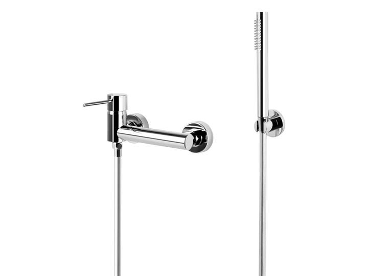 Zestaw prysznicowy Corsan CMZ065CH Lugo chromowana bateria ze słuchawką prysznicową Wyposażenie Z uchwytem