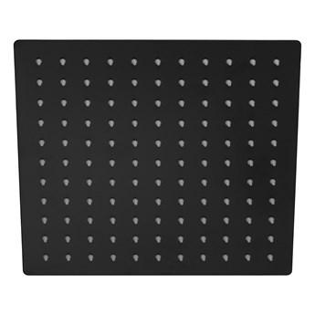 Deszczownica natryskowa Corsan CMD25BL SLIM czarna kwadratowa 25 cm