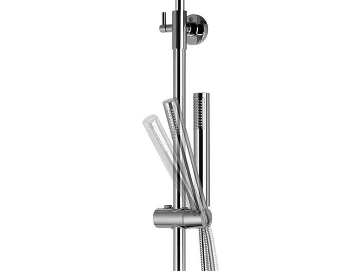 Kolumna prysznicowa Corsan Lugo CMN026 z termostatem Wyposażenie Z uchwytem Wyposażenie Z baterią