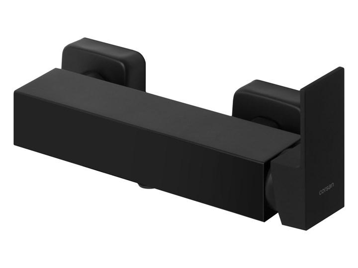 Bateria prysznicowa Corsan CMB3026BL Kolor Czarny
