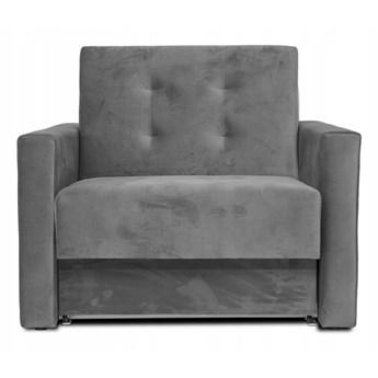 Fotel rozkładany MONDO Szary