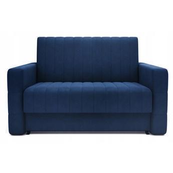 Sofa 2-osobowa DOMO Blue Velvet