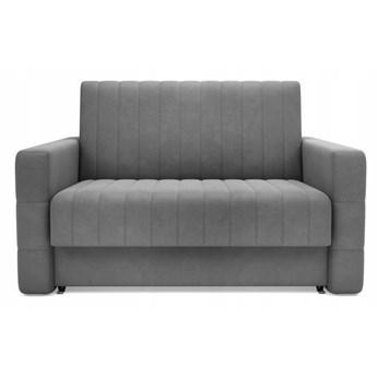 Sofa 2-osobowa DOMO Szary Velvet