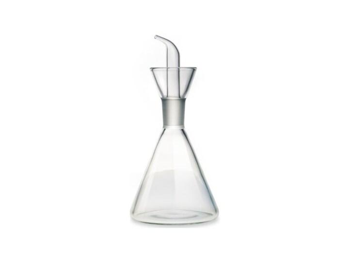 Karafka GIANNINI Oliera Conica 0900 0.125 L Szkło Pojemnik na ocet i oliwę Kategoria Przyprawniki Kolor Biały