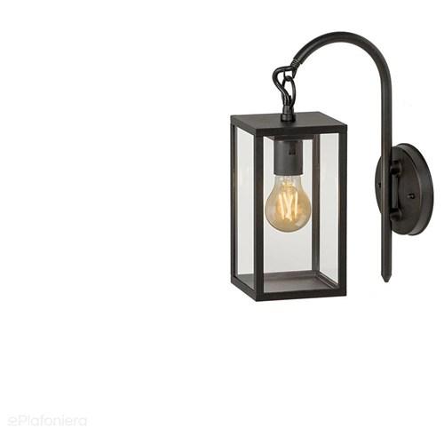 Lampa ścienna - kinkiet, ogrodowa zewnętrzna latarnia IP 44 (4W, 2200K) (system 12V LED) Columba