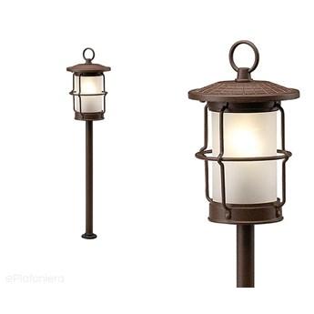 Lampa stojąca 53cm, ogrodowa zewnętrzna IP 44 (1,5W, 3000K) (system 12V LED) Locos