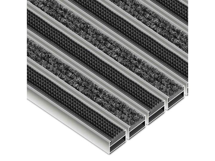 Clean Ryps - Rubber 50 x 80 cm - wycieraczka Kategoria Wycieraczki Kolor Czarny