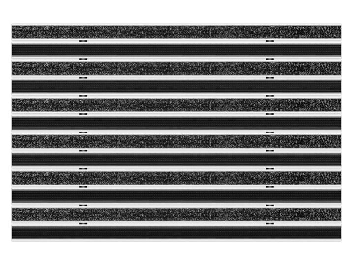 Clean Ryps - Rubber 80 x 100 cm - wycieraczka Kategoria Wycieraczki Kolor Czarny