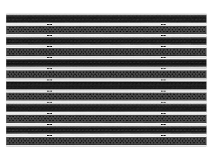 Clean Rubber - Scrub 50 x 80 cm - wycieraczka