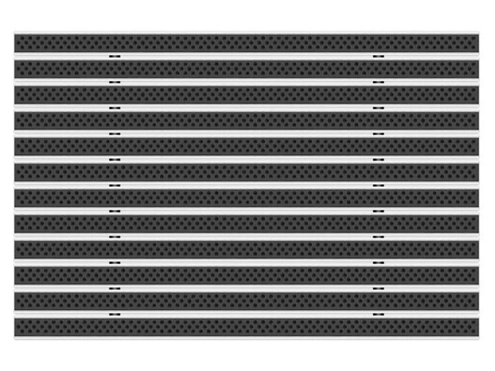 Clean Scrub 80 x 100 cm - wycieraczka Kategoria Wycieraczki Kolor Czarny