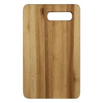 Deska do krojenia prostokątna DUKA KITCHEN 34x21 cm brązowa drewno