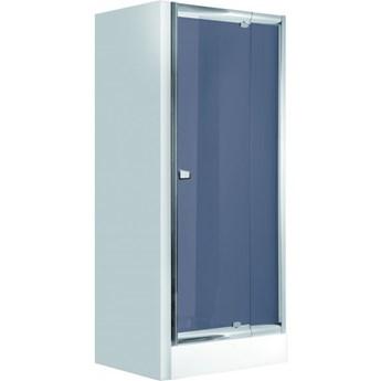 Deante Zoom drzwi prysznicowe uchylne 90 cm chrom/szkło grafitowe KDZ 411D