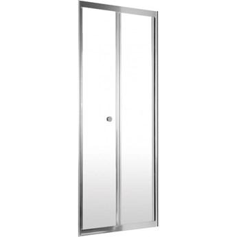 Deante Flex drzwi prysznicowe składane 80 cm chrom/szkło przeźroczyste KTL 022D